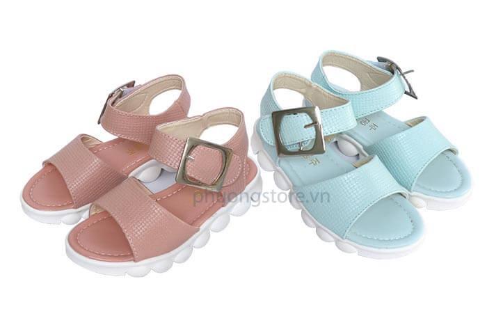 Giày trẻ em nữ kiểu sandal quai hậu  tuổi từ 3 - 12 tuổi