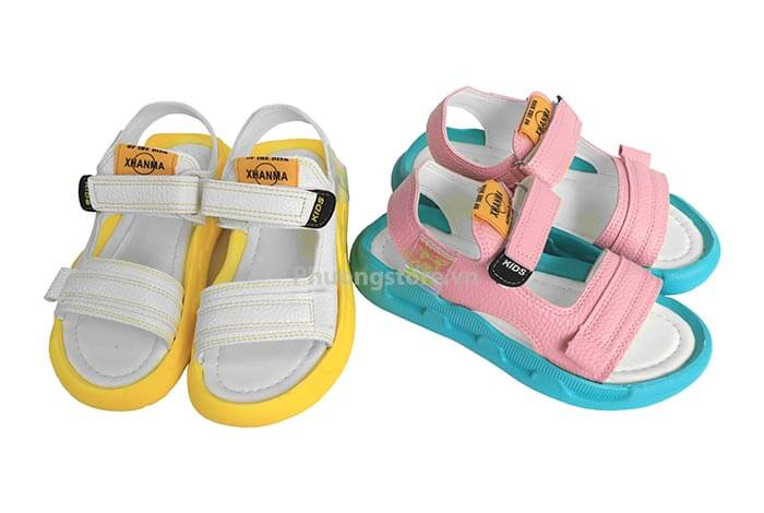 Giày trẻ em nữ đế cực dẻo mềm tuổi từ 3 - 12 tuổi kiểu Hàn Quốc